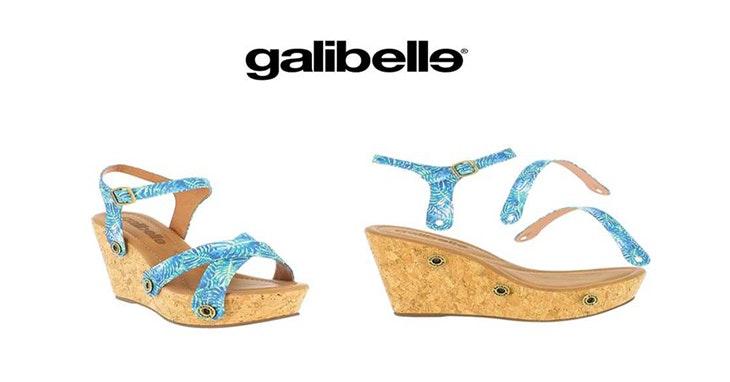Personalize as suas sandálias Galibelle