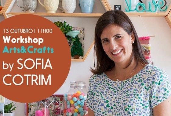 Meter mãos à obra com Sofia Cotrim este sábado