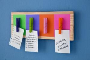 DIY 5 - Para não te esqueceres das tuas tarefas