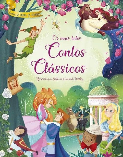 """capa do livro """"os mais belos contos clássicos"""""""