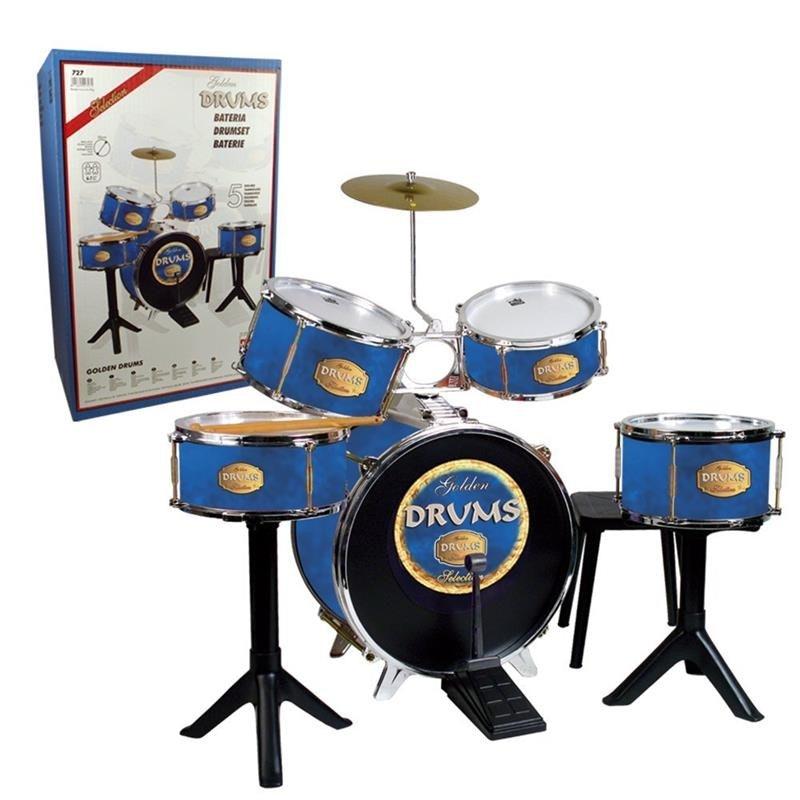 instrumento musical bateria para criança da centroxogo