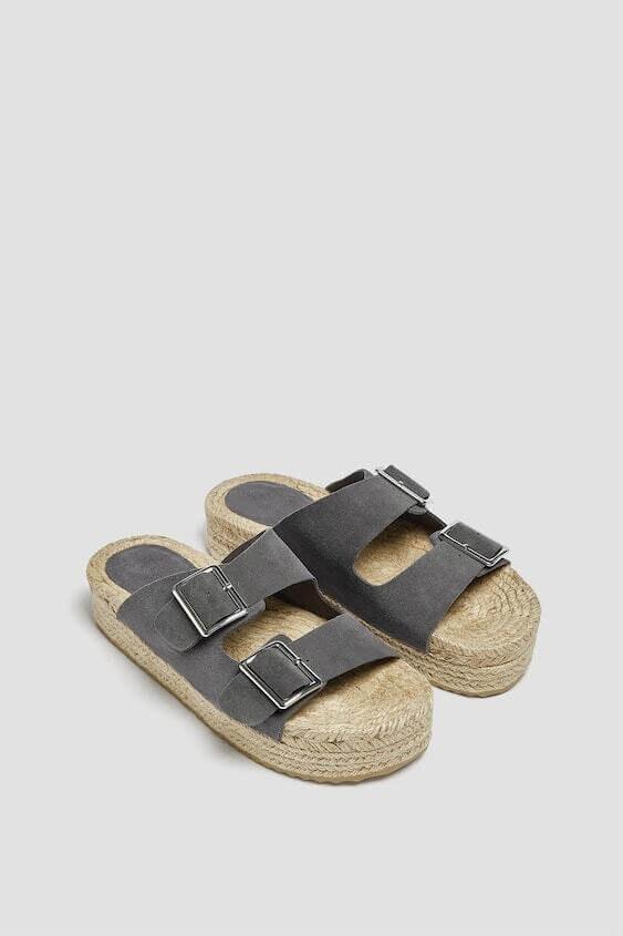 Sandálias da pull & bear