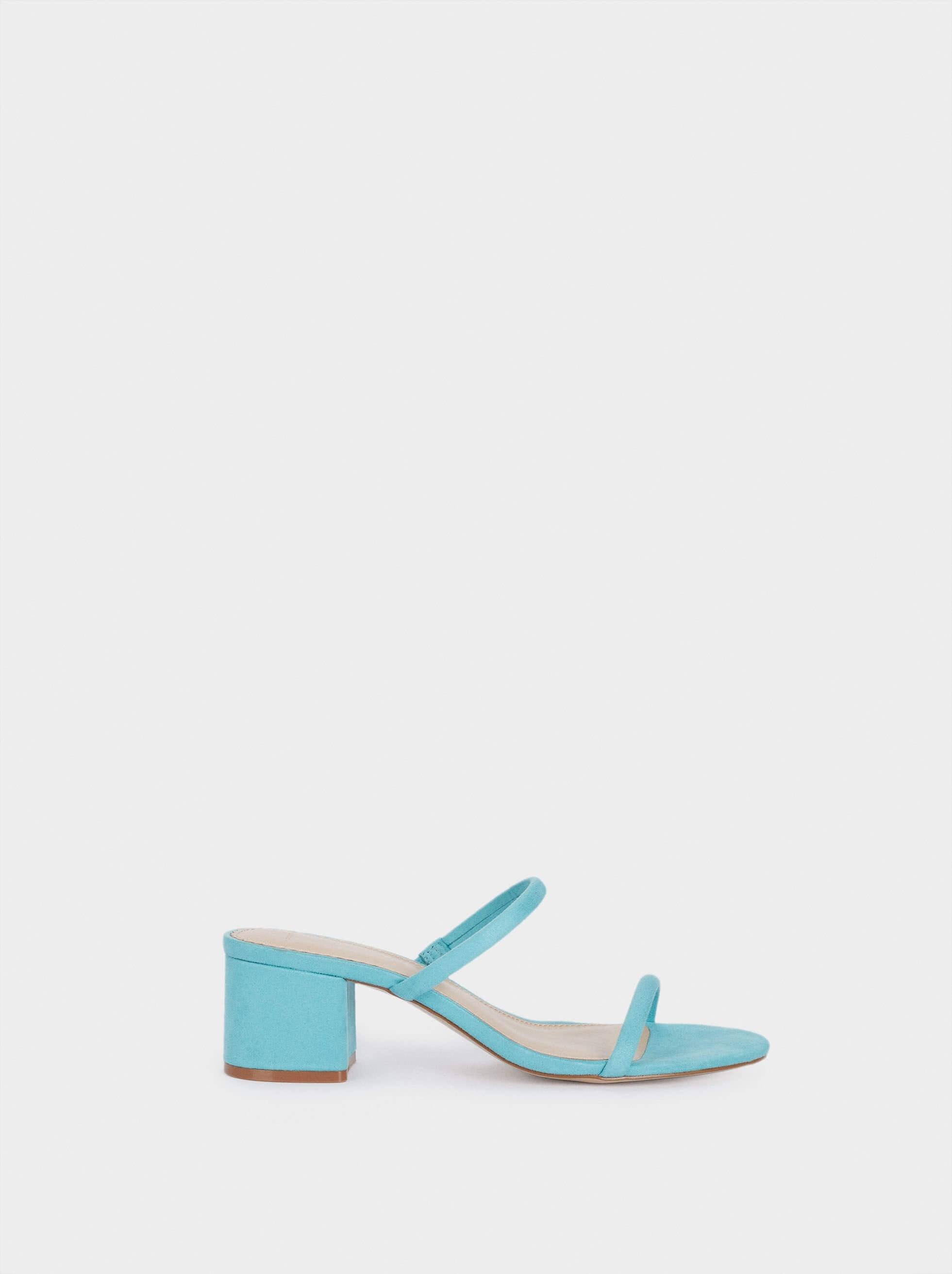 Sandálias azuis da parfois