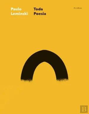 Capa do livro oda Poesia de Paulo Leminski