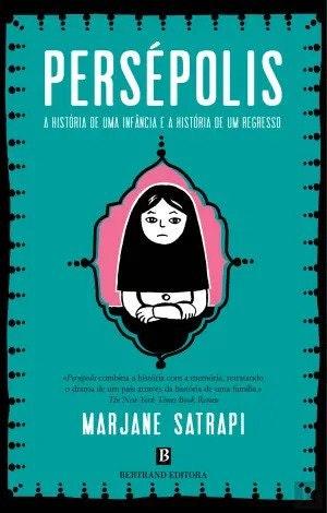 Capa do livro Persépolis de Marjane Satrapi